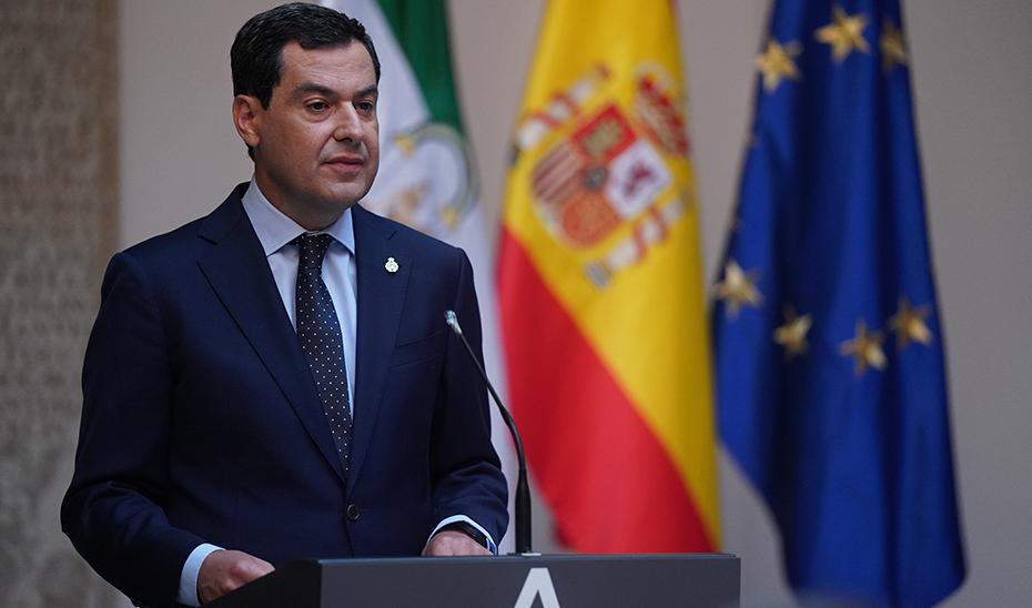 Intervención de Juanma Moreno en la toma de posesión del Comisario de la Unidad de Policía Nacional Adscrita a Andalucía (audio íntegro)