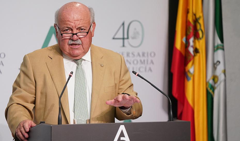 Aguirre informa de que la Junta colabora con los ayuntamientos en el control de las aguas residuales