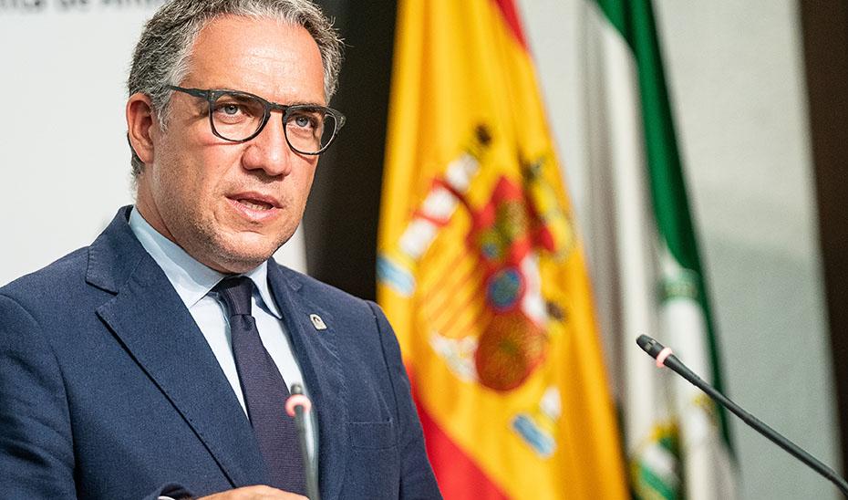 Bendodo informa del régimen sancionador ante el incumplimiento de las medidas frente al Covid-19
