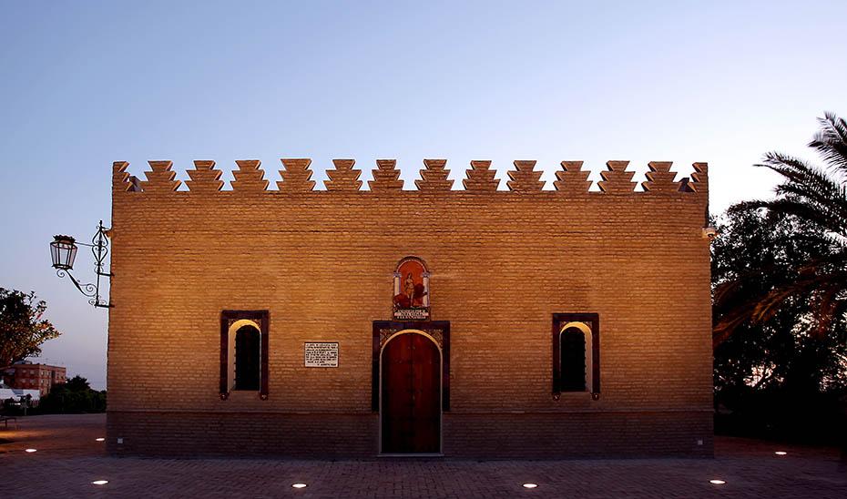 Fachada de Dar al-Farah, la Casa de la Alegría.
