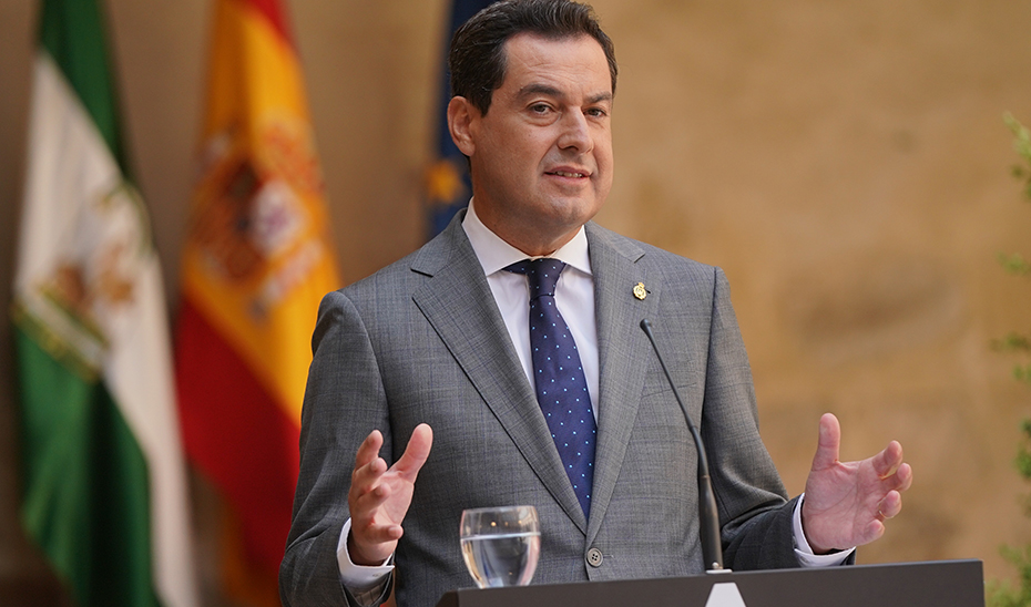 El presidente Juanma Moreno anuncia inversiones por 810 millones para Jaén