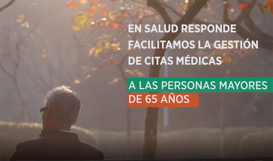 Operadores de Salud Responde atenderán personalmente a mayores de 65 años con dificultades para gestionar citas médicas