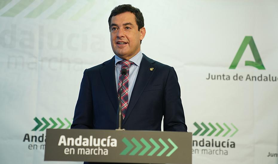 Intervención del presidente de la Junta, Juanma Moreno, en la inauguración del CARE Los Alcores