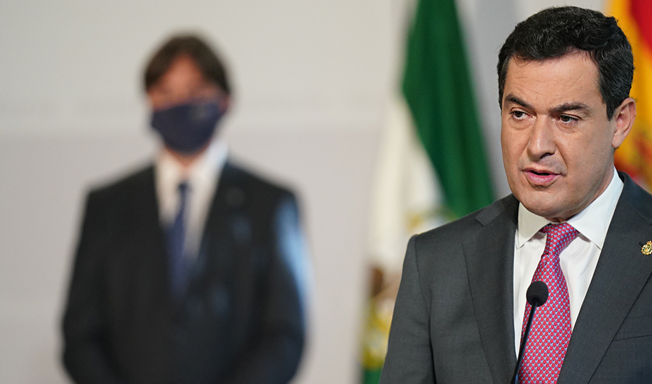 Intervención del presidente de la Junta en el acto de toma de posesión del rector de la UPO