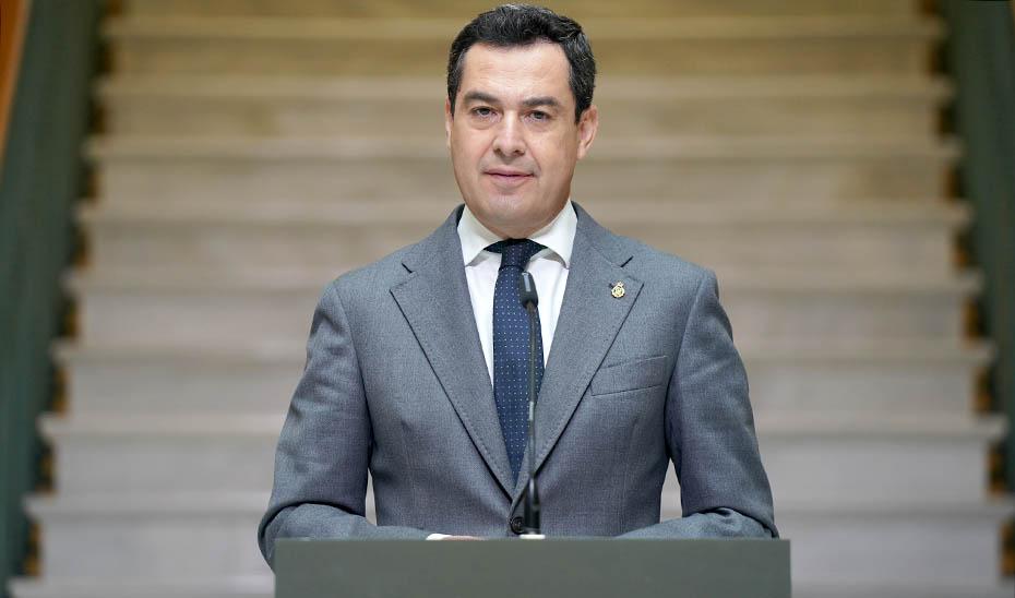 Intervención del presidente Juanma Moreno en el Ayuntamiento de Linares