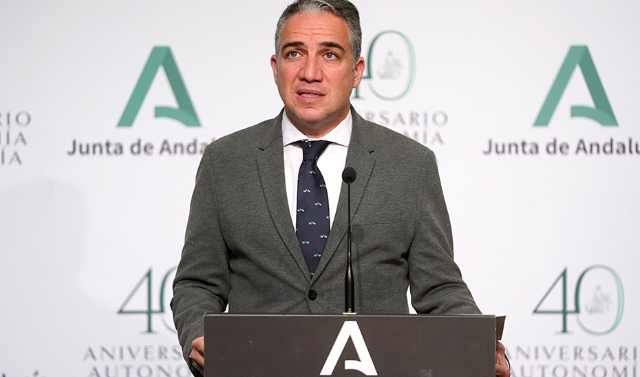 Bendodo informa de que la Renta Mínima ha beneficiado a más de 79.000 andaluces en 2020