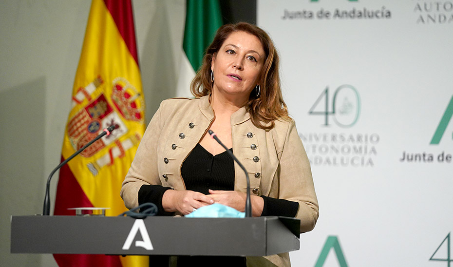 Carmen Crespo explica el rechazo de Andalucía a la decisión del Ministerio de acelerar la convergencia de cara a la PAC