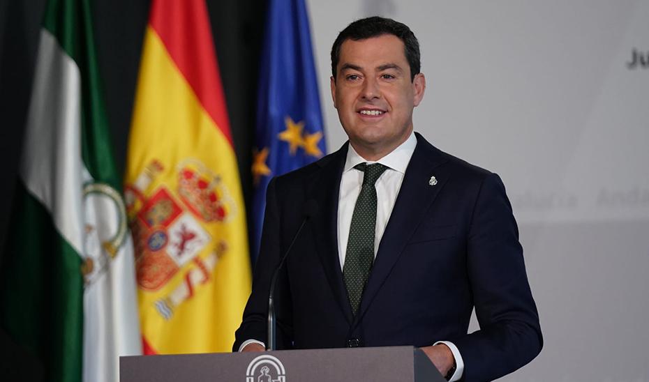 Intervención del presidente Juanma Moreno en la entrega de los Premios Andalucía de Periodismo 2020