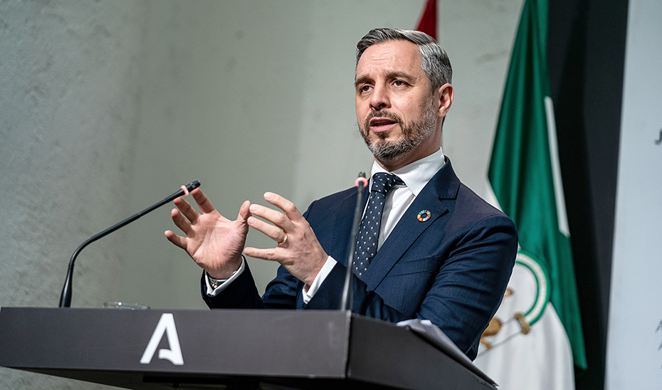 Juan Bravo explica el decreto para la agilización de los fondos europeos para la recuperación económica