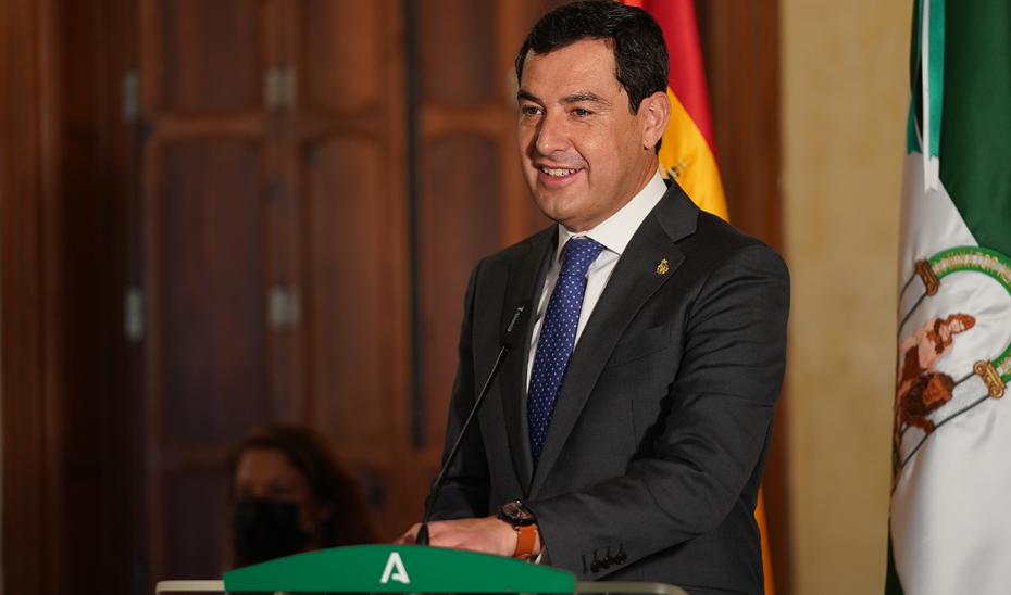 Intervención de Juanma Moreno en la presentación del Polo de Innovación Tecnológica de la Agricultura Andaluza Cita 4.0