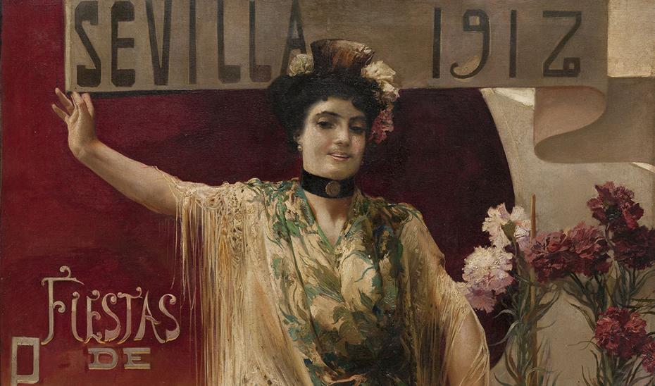 1912: mantón y enaguas
