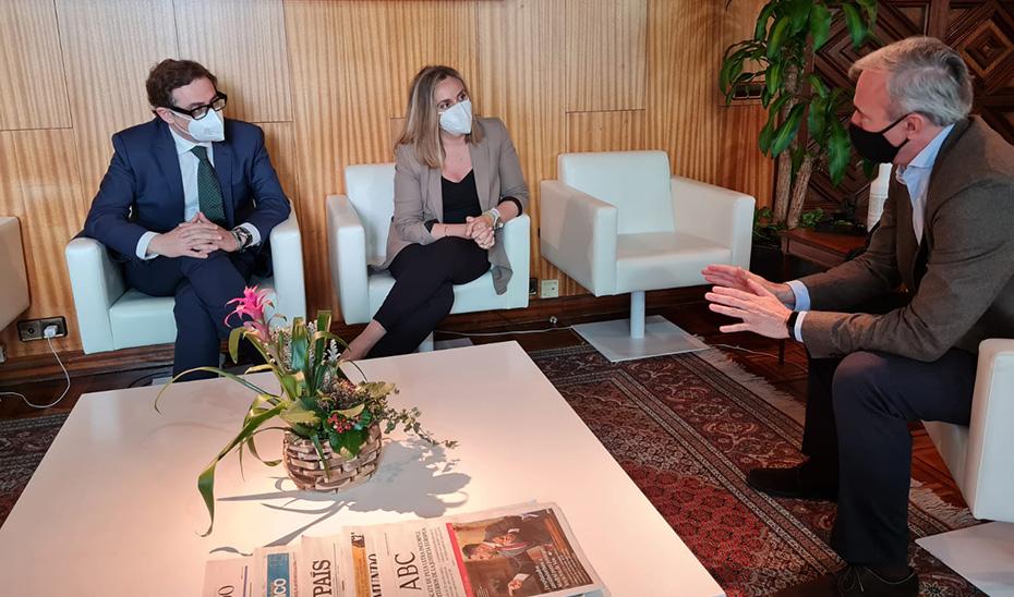 Marifrán Carazo se reúne con el alcalde de Zaragoza