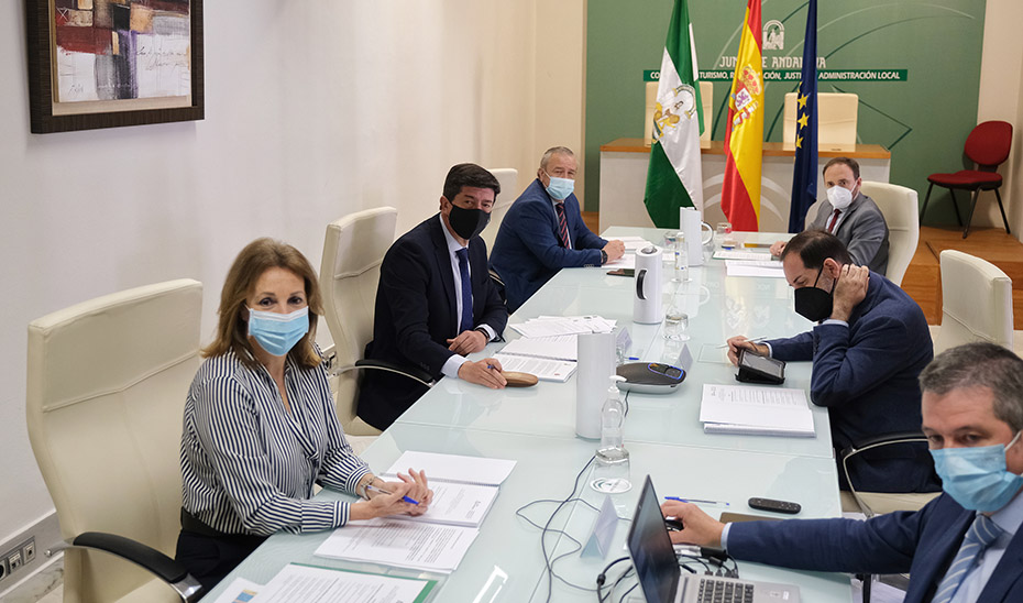 Juan Marín anuncia que la nueva Oficina Fiscal estará implantada en toda Andalucía en 2023