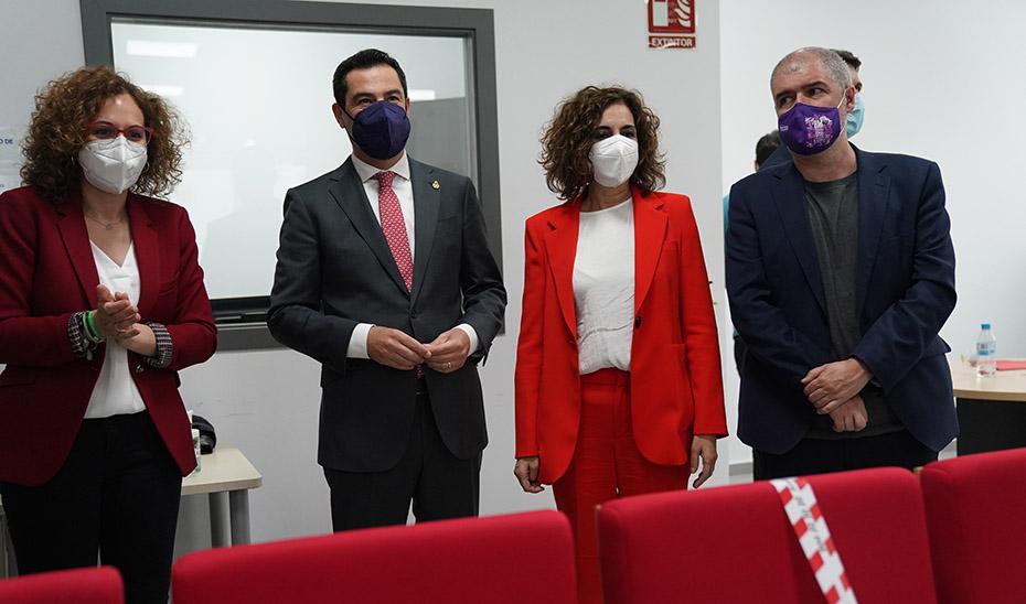 Intervención de Juanma Moreno en la inauguración de la sede de CCOO-A (vídeo íntegro)