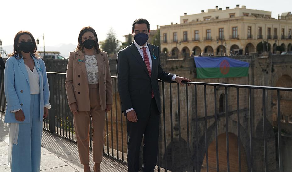 Moreno destaca el legado histórico, cultural y social del pueblo gitano y apela a su inclusión plena