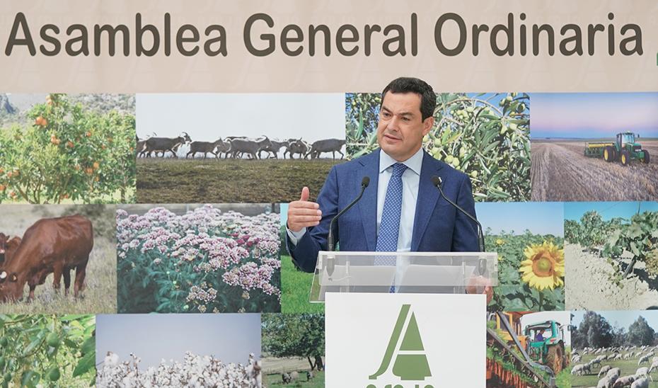 Intervención del presidente de la Junta en la clausura de la Asamblea General de Asaja-Cádiz