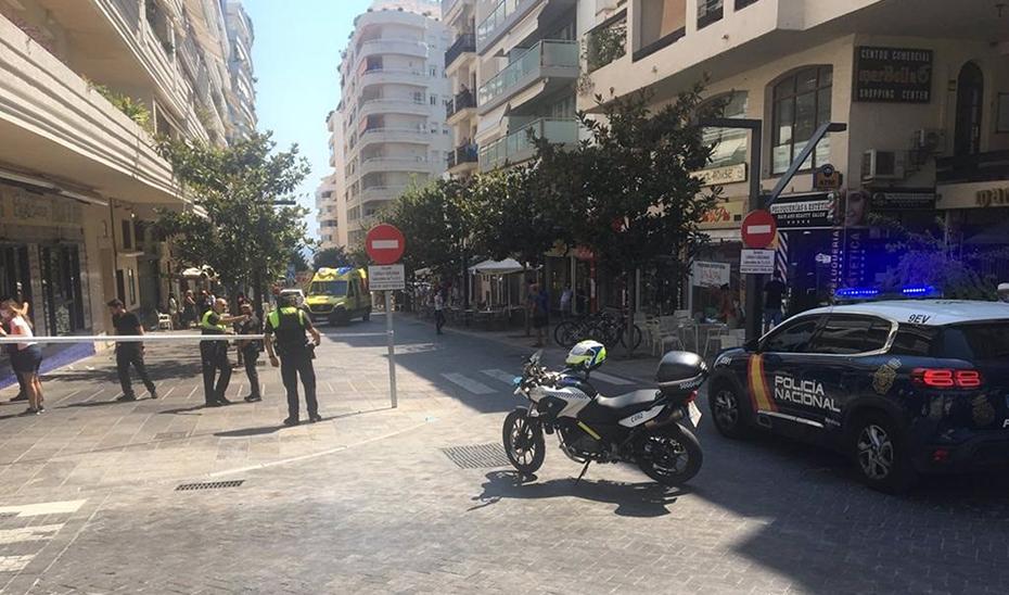 Calle de Marbella donde ha ocurrido el suceso (Agencia EP)