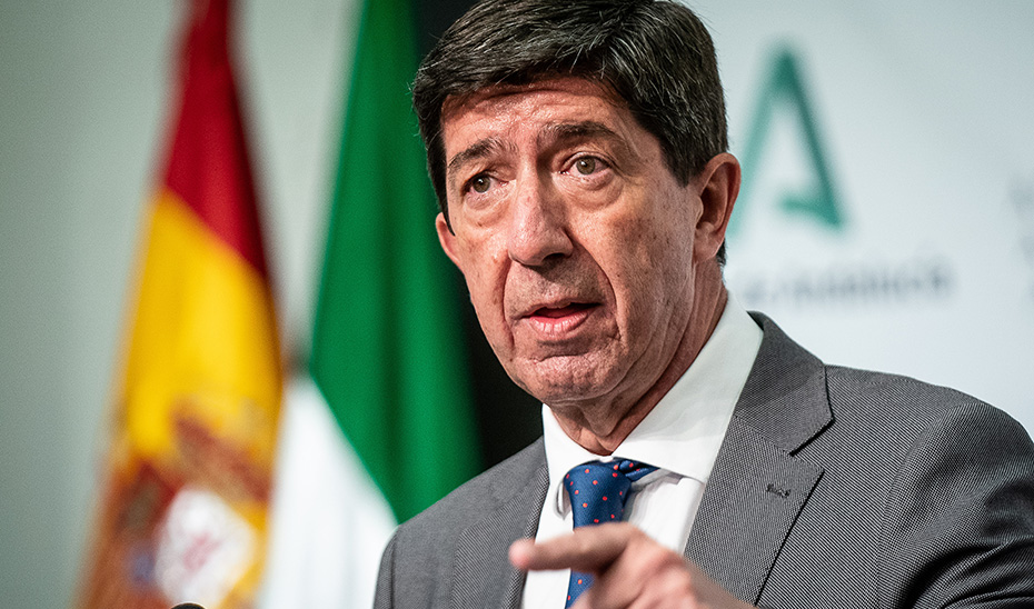 Juan Marín y Juan Bravo informan de las auditorías al sector público instrumental