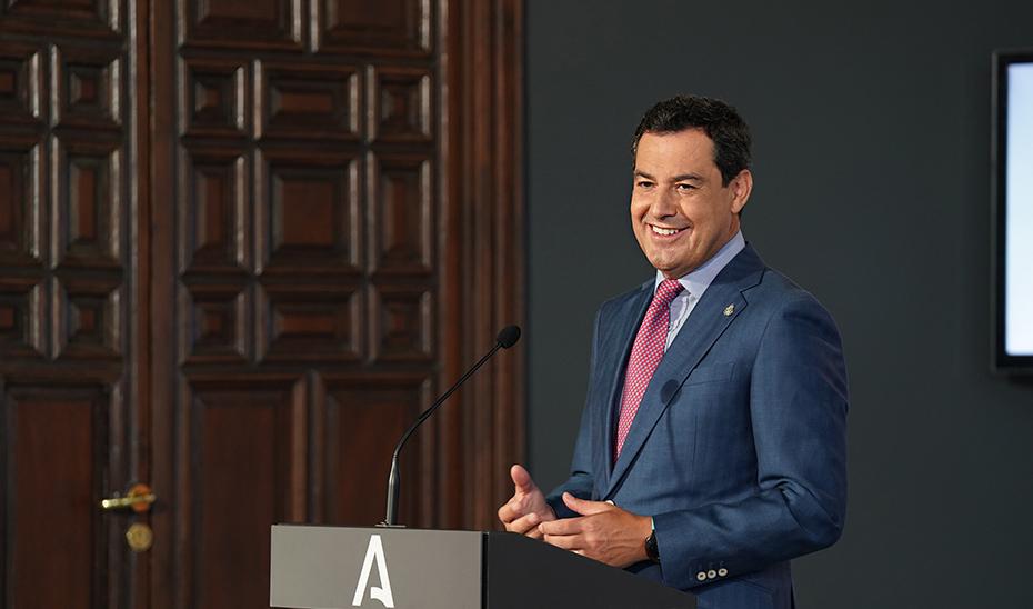 Intervención del presidente en el homenaje a los deportistas andaluces en Tokio 2020