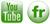 Iconos flickr y Youtube