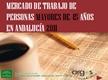 Mercado de trabajo de personas mayores de 45 años en Andalucía 2011