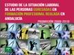 Estudio de la situación laboral de las personas egresadas en formación profesional reglada en Andalucía Promoción 2009-2010