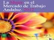 La Mujer en el Mercado de Trabajo Andaluz. Año 2012