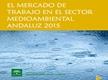 El Mercado de Trabajo en el Sector Medioambiental Andaluz 2015