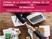 La situación Laboral de las personas egresadas en Enseñanzas Universitarias en Andalucía. Promociones 2015-2016 y 2014-2015