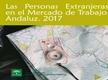 Las personas extranjeras en el mercado de trabajo andaluz 2017