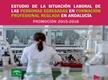 Estudio de la situación laboral de las personas egresadas en formación profesional reglada en Andalucía Promoción 2015-2016