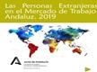 Las personas extranjeras en el mercado de trabajo andaluz 2019