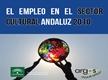 El empleo en el sector cultural andaluz 2010