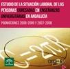 La situación Laboral de las personas egresadas en Enseñanzas Universitarias en Andalucía. Promociones 2008-2009 y 2007-2008