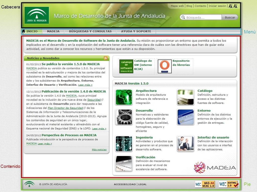 Gu a de uso para el lector marco de desarrollo de la junta de andaluc a - Pisos de la junta de andalucia ...
