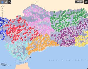 Mapa Instalaciones Deportivas