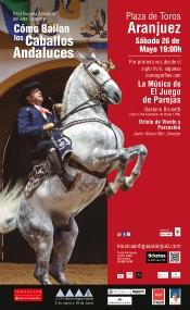 La Real Escuela del Arte Ecuestre lleva su espectáculo a Aranjuez con un programa de coreografías especiales