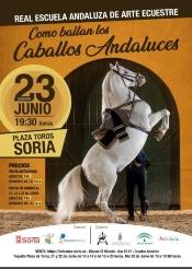 La Real Escuela del Arte Ecuestre lleva su espectáculo a Soria