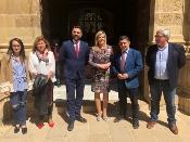 La Junta y el Ayuntamiento de Baeza renuevan su acuerdo de gestión conjunta de los servicios de la Oficina de Turismo