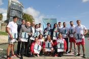 El CEAR La Cartuja acoge el XLIX Campeonato de España de Invierno de Piragüismo, que reúne a más de 700 palistas