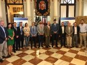 Fernández destaca el compromiso de la Junta con el 'Campeonato del Mundo de Atletismo Máster 2018'
