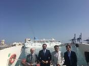 Fernández apuesta por potenciar el turismo de cruceros con nuevas herramientas de comercialización y promoción