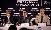 Juan Marín garantiza el respaldo de la Junta en los próximos años al Andalucía Masters de golf