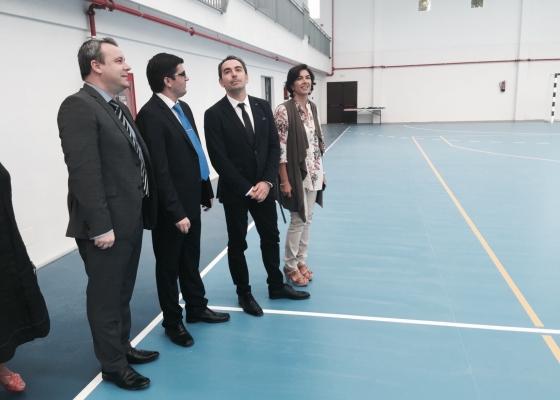La comarca de la Alpujarra amplía su red de instalaciones deportivas con el nuevo pabellón cubierto de Cádiar