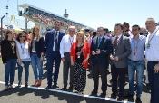 """Francisco Javier Fernández destaca la """"histórica edición"""" del GP de Jerez por visitantes y el primer podio andaluz"""