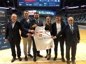 """Fernández confía en que el España-Bielorrusia de baloncesto sea """"una gran tarde"""" de deporte y llama al apoyo de la afición"""