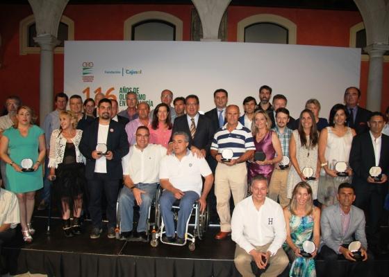 La FAO realiza un homenaje a los deportistas de la comunidad con el acto '116 años del Olimpismo en Andalucía'
