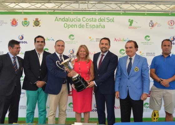 Francisco Javier Fernández destaca el impacto del Open de España, conquistado por la andaluza Azahara Muñoz