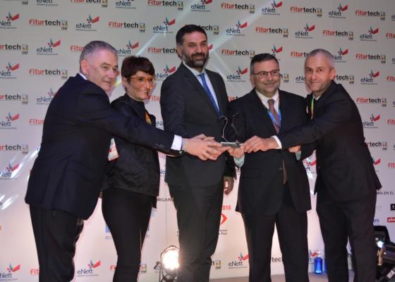 El Smart Data turístico de Andalucía, galardonado en la primera edición de premios de destinos inteligentes del ITH