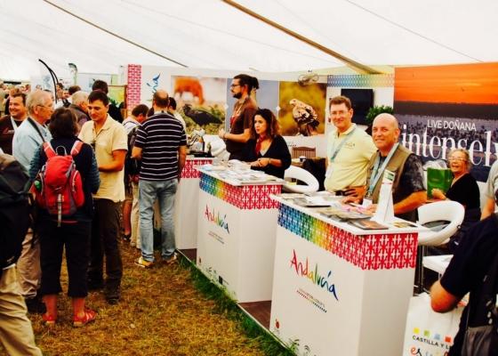 Andalucía promociona su oferta como destino de referencia de turismo ornitológico ante 300 profesionales internacionales